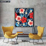 2017 Hawaiian Aloha Flowers Bloom de primavera decoración de la pared Pintura
