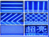 Único indicador ao ar livre do texto da tela do módulo do diodo emissor de luz do azul P10