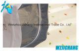 Sac de fermeture éclair rétractable Sac à glissière en plastique transparent à un côté spécial pour l'emballage en tissu