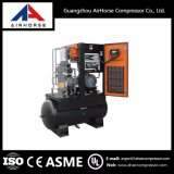 Compressore d'aria montato serbatoio della vite di prezzi competitivi 7.5HP-20HP