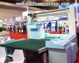 HK CNCの二重刃の輪郭のスポンジの切断の機械装置