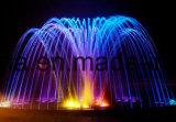 Edelstahl, der blätteriger Strahlen-Wasser-Brunnen-Düsen-blätteriger Strahlen-springende Brunnen-Strahldüse springt