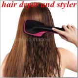 1개의 헤어드라이어와 머리 브러쉬 최신 대중적인 싼 가격 전기 머리 컬 솔 열기 자전 머리 브러쉬에 대하여 OEM 제조 2