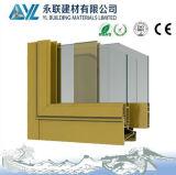Het anodiseren het Gouden Profiel van het Aluminium voor Vensters en Deuren