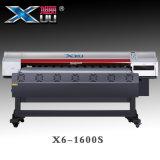 Impresora solvente de Eco de la cabeza de impresora Dx5 del formato grande el 1.6m (3PL) con la impresora solvente original de la Tinta-Xuli de Xuli Eco