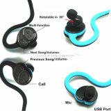 특별한 공상 무선은 소녀 Bluetooth 헤드폰을 수신한다