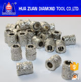 Electroplated 대리석 철사를 위한 다이아몬드 구슬이 고능률에 의하여 보았다 전기도금을 했다