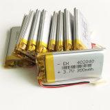 3.7V 300mAh 402040 Lithium-Polymer-Plastik Lipo Li Ionennachladbare Batterie für bewegliches elektronisches Teil MP3-MP4 MP5