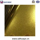 De gouden Super Fijne 8k Spiegel die van de Kleur het Blad van de Decoratie van het Roestvrij staal zandstralen