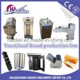Cadena de producción del pan de Equipemt de la tostada del pan de la panadería conjunto completo