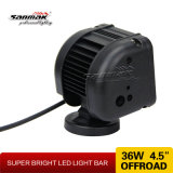4.5 '' barra ligera triple popular exclusiva del CREE 36W LED de la pila