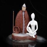 Yoga &#160 di ceramica di originalità; Censer affumicato Incense/E del bruciatore di incenso di riflusso della porcellana bianca