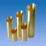 Tubo de cobre amarillo de ASTM B111 el Ministerio de marina para el condensador y los Calor-Cambiadores, desalación del agua de mar, C68700, C44300, Eemua144 Uns C7060X C70600, CuNi 90/10, Uns C70620