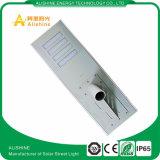 IP65 todo en una luz de calle solar 80W con la batería solar de la luz de calle LiFePO4