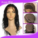 Perucas materiais da parte dianteira do laço do cabelo humano de preço de grosso