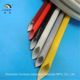 El envolver trenzado de la fibra de vidrio del silicón aprobado de RoHS del alcance de la UL