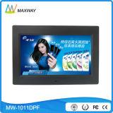 Marco de venta al por mayor a granel 7 8 10 pulgadas de fotos digital con batería recargable (MW-1011DPF)