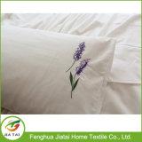 Folha de base enorme bordada mão do algodão da folha de base