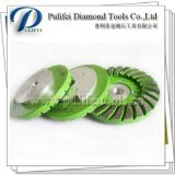 Metal Bond Snail Lock Polishing Pad