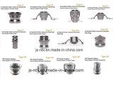 Tipi differenti di accoppiamenti del Camlock dell'acciaio inossidabile