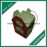 食品等級のPEの上塗を施してあるボール紙のヌードルボックス