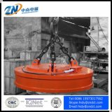 L'aimant de levage de corps de moulage pour la grue de 16 tonnes avec le panneau de contrôle pour l'acier de charge ferraille Cmw