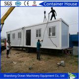 Casa prefabricada favorable al medio ambiente estándar del envase de Australia de la estructura de acero con precio barato y gran calidad