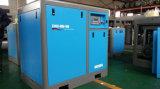 Qualität 5.5kw und Menge versicherten Becken kombiniertem riemengetriebenem Schrauben-Luftverdichter