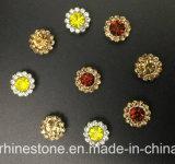 2017 garra de cristal nova e superior da flor da qualidade 14mm que ajusta os grânulos de vidro (âmbar escuro de TP-14mm)