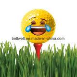 最もよい販売法の新しいバルクEmojiのゴルフ・ボールの卸売