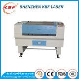 cortadora del laser del CO2 80W para el rectángulo de cuero de madera/de cristal/de papel