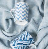 Nueva taza de café de cerámica del color verde del diseño para la promoción