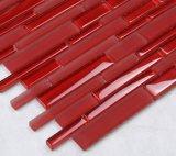 Glas van het Mozaïek van de Tegels van het Zwembad van de rode Kleur het Vierkante met de Prijs van de Fabriek