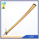 伸縮性があるロープの虹はLanayrdを着色する