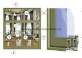 Profil d'aluminium de Windows de ceinture de la série Jlh-70