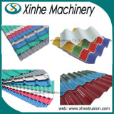 A linha de produção PMMA-PVC da telha de telhado do PVC colorida escolhe a telha da camada que faz a maquinaria