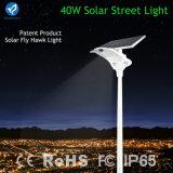 2016 neu alle in einem Solar-Solarstraßenlaterneder LED-Straßenlaterne-40W in uns