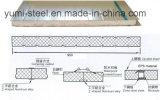 Горячие панели сандвича пены EPS строительного материала Sall дешево относящие к окружающей среде изолированные