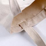 Мешок хлопка Tote покупкы холстины ситца 100% естественный напечатанный