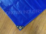 PVC fuerte material de lona para pilas de madera cubierta
