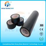 Películas protetoras usadas do PVC da cor seção de alumínio preta