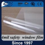 Protection en verre transparente claire élevée film de sûreté de 8 mils