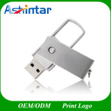 회전대 금속 USB 섬광 드라이브 Thumbdrive USB 지팡이 플래시 메모리