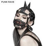 Cappello elastico del Beanie degli accessori S-201 delle mascherine della protezione punk del Turtleneck per la prestazione