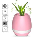 Los crisoles de flor elegantes de la música de Bluetooth verdaderos crecen la maceta del piano de las plantas