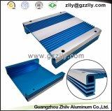 Blaue Farben-Auto-Gussaluminium-Profil-Kühlkörper