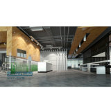 Plancher du cliquetis WPC de WPC/parqueter de /Click/ matériau de construction