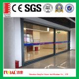 Puerta de aluminio satinada aislada Inferior-e de la alta calidad