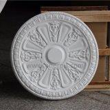 装飾的なローズPUの天井の円形浮彫りのウレタンフォームのシャンデリアHn056