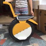 Una vespa de equilibrio eléctrica del Unicycle de la rueda con el asiento